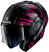Shark-EVO-ONE-2-Discovery-Division-LITHION-DUAL-Modular-Flip-Up-Motorcycle-Helmet-Black-Chrome-Purple-HE9704DKUV-2
