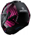 Shark-EVO-ONE-2-Discovery-Division-LITHION-DUAL-Modular-Flip-Up-Motorcycle-Helmet-Black-Chrome-Purple-HE9704DKUV-4