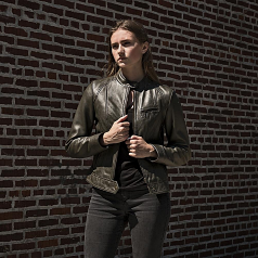 Whet-Blu FAVORITE - Womens' Leather Fashion Jacket