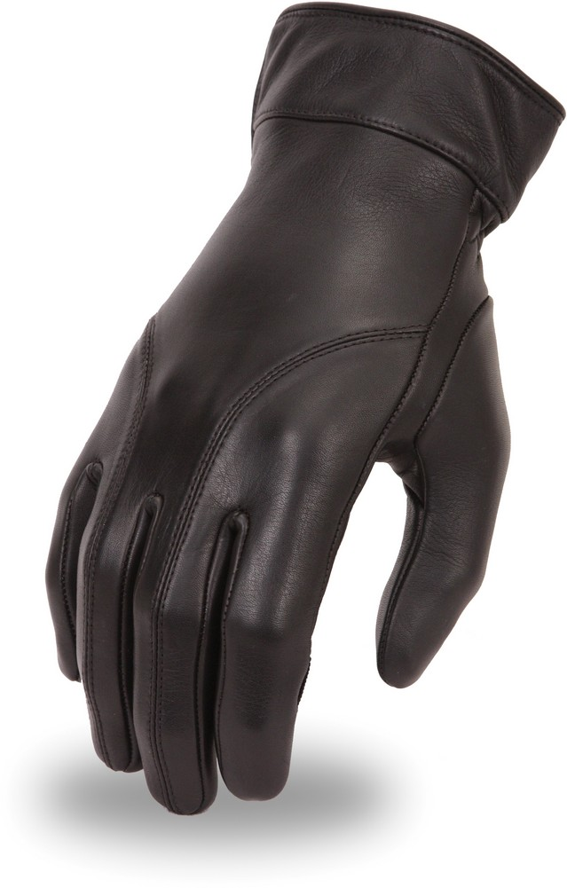 Light Lined Leather Glove with Gel Palm