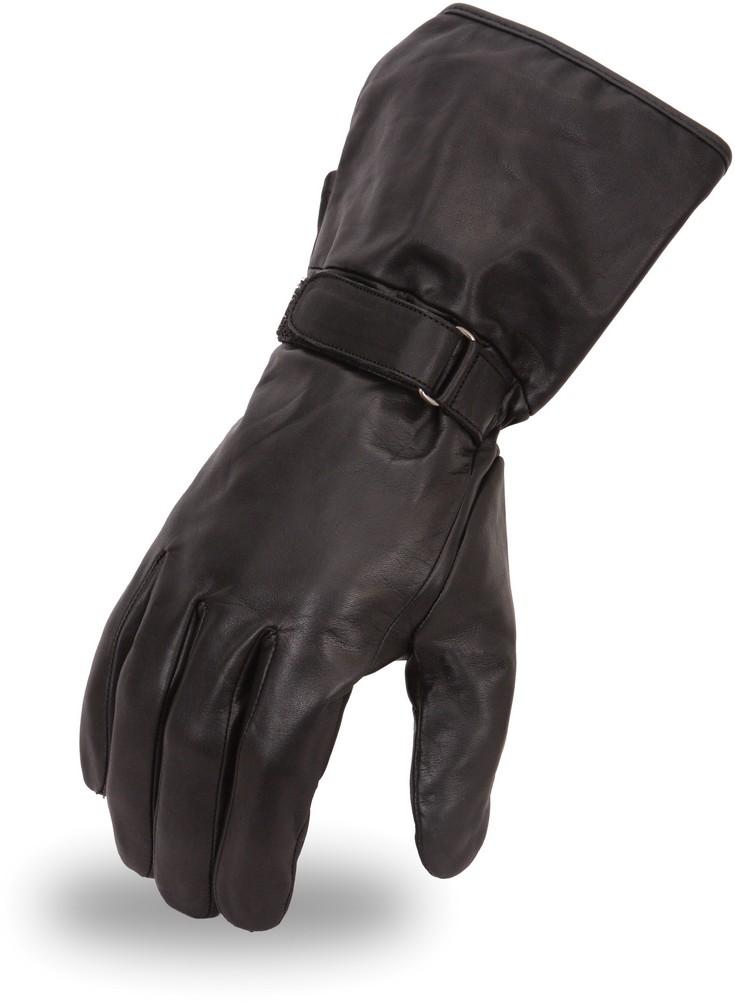 Gauntlet Gloves in Premium Aniline Cowhide