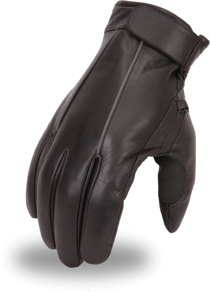 Cruising Glove with Reflective Piping and Throttle Grip