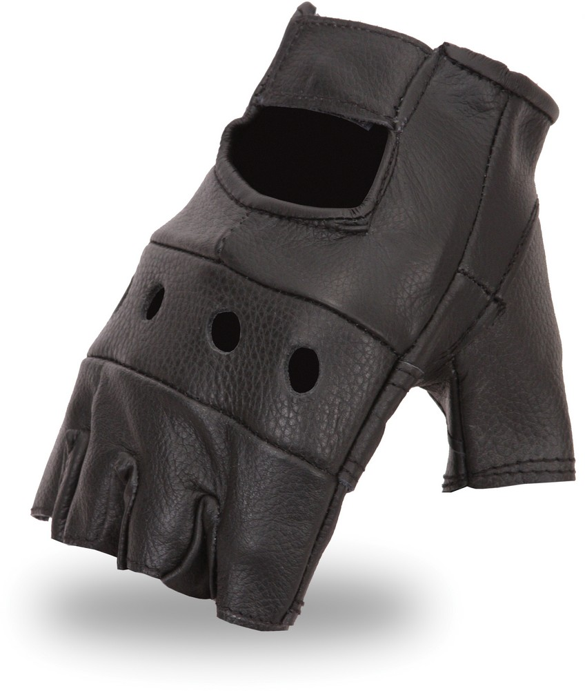 Lightweight Unlined Classic Cowhide Fingerless Glove