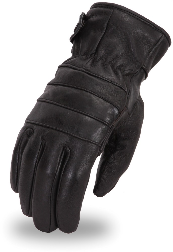 High Performance Insulated Cowhide Touring Glove with Padded Palm
