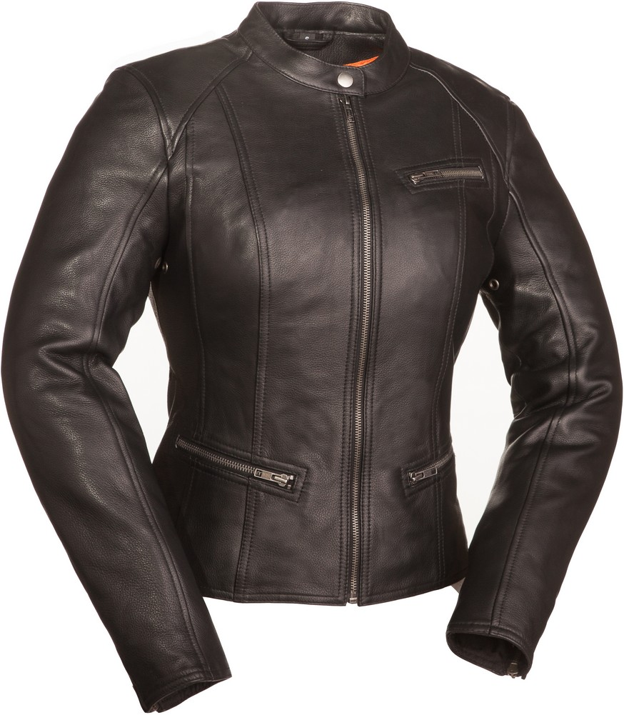 The First Fashionista: Clean Cut Scooter Jacket - Black