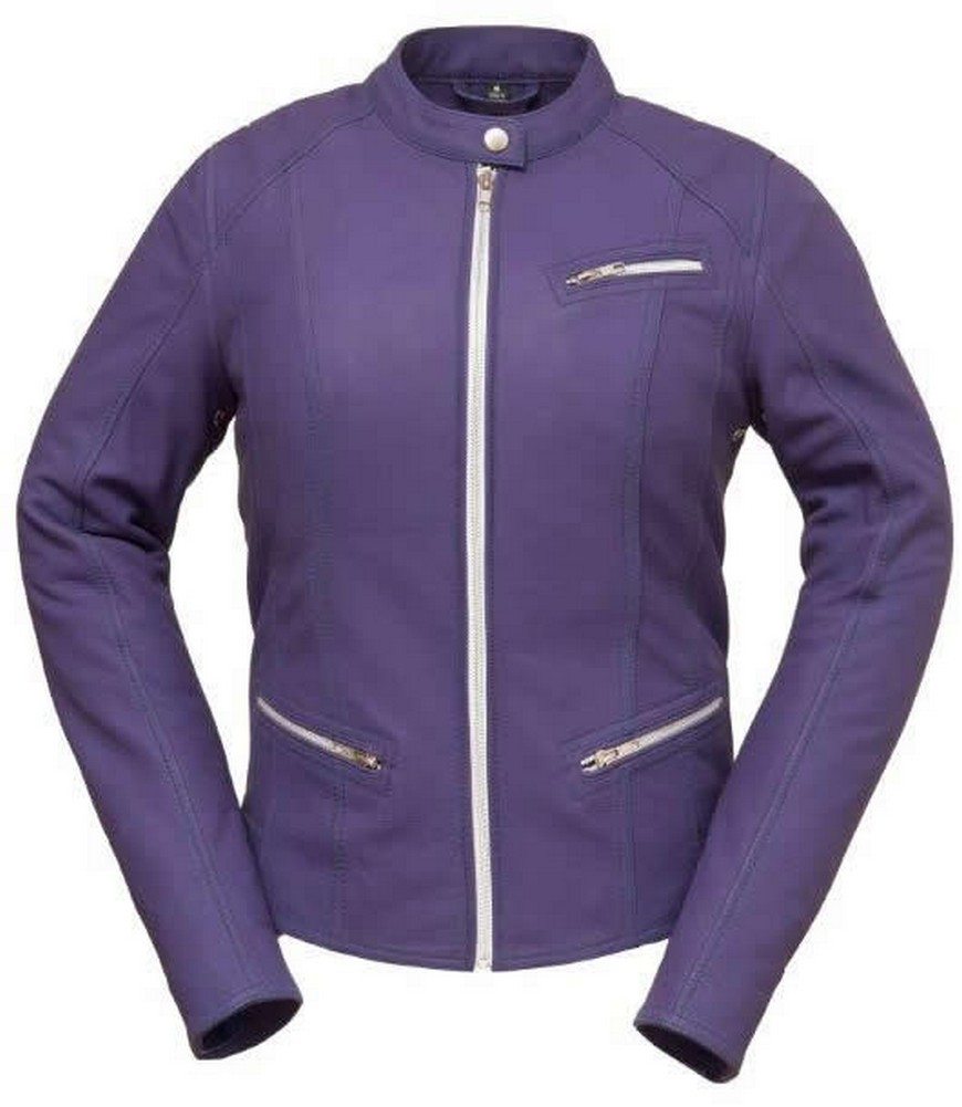 The First Fashionista: Clean Cut Scooter Jacket - Purple