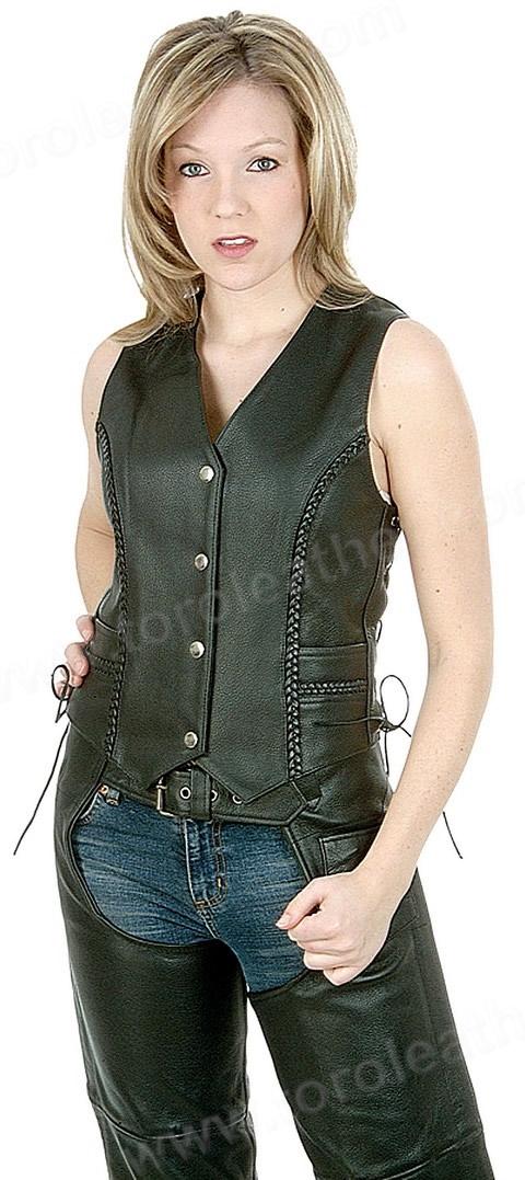 The Trinity Vest: Braided Sidelaced Vest