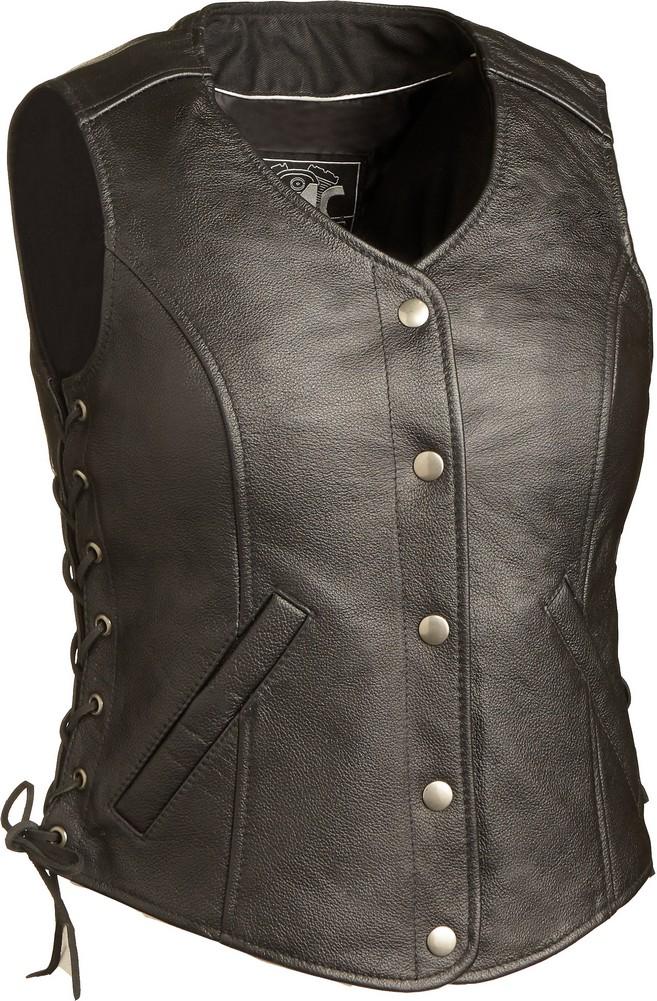 The Honey Badger: Single Panel Back Sidelaced Concealment Gun Vest