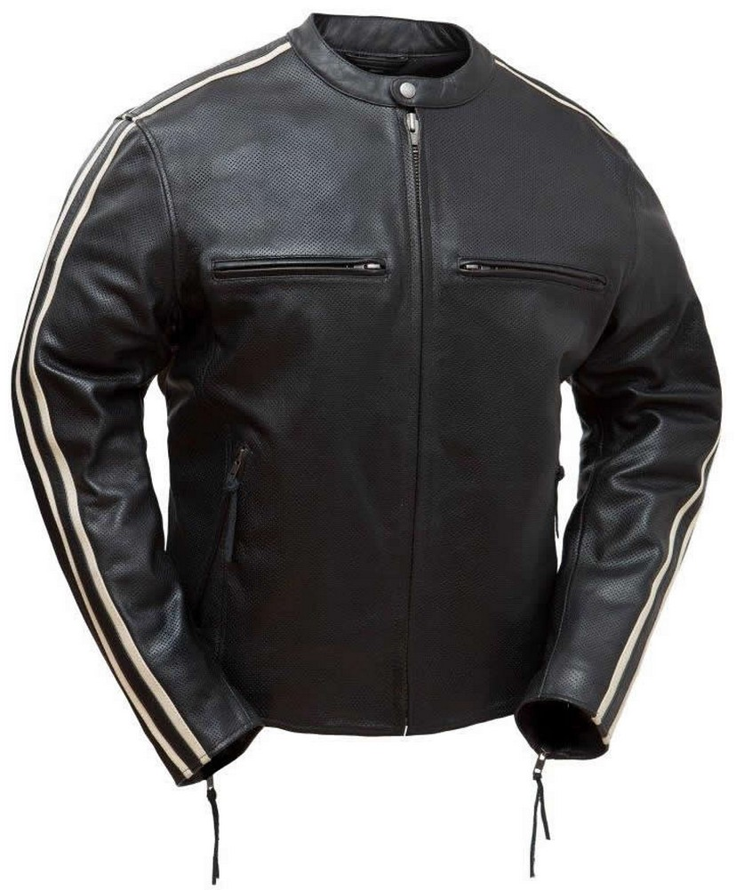 The Fast Fury: Perforated Classic 60s Style Racing Jacket