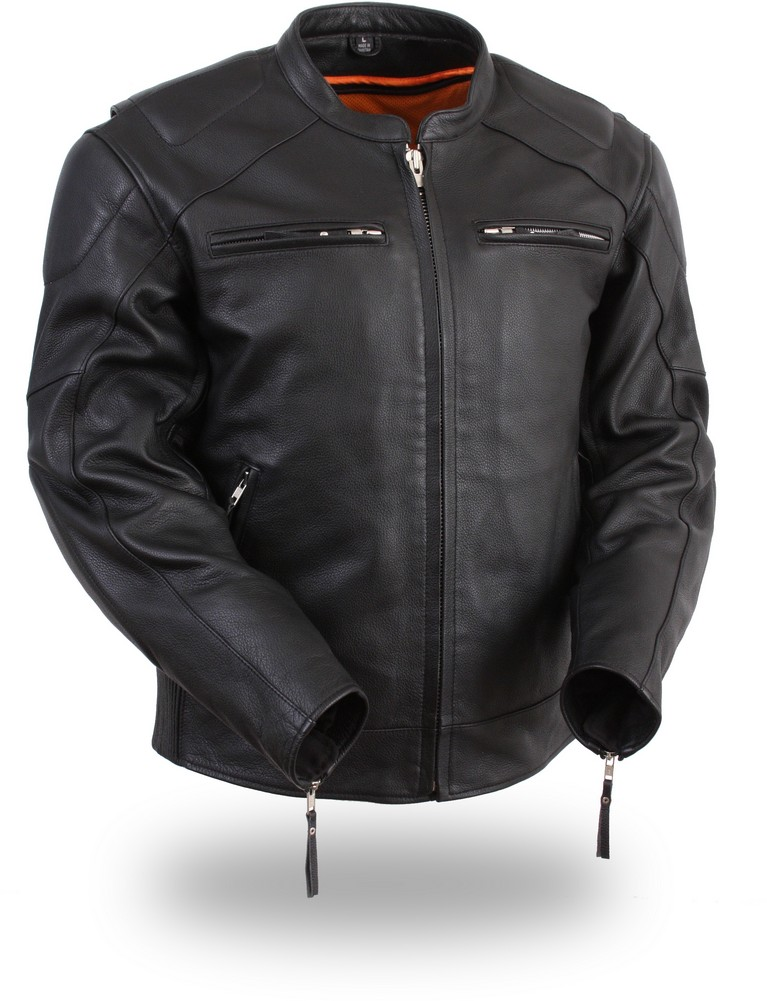 The Speed Demon: Vented Racing Jacket with Concealment Gun Pockets
