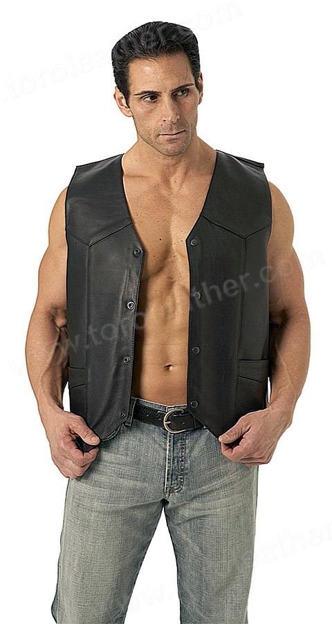 The Top Shot: Classic 4-Snap Vest