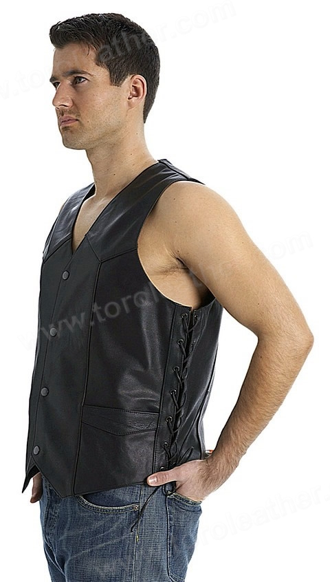 The Carbine: Classic Sidelaced 4-Snap Vest