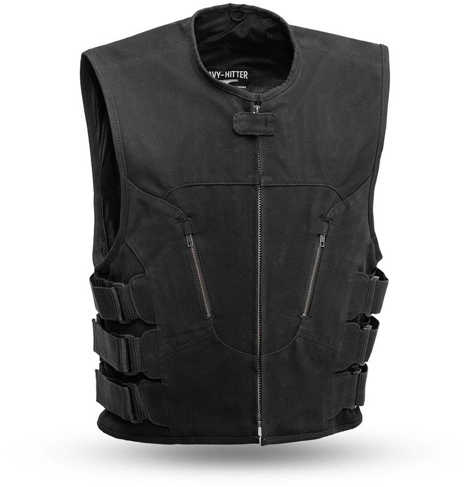 First Manufacturing The Commando: Updated SWAT Team Style CANVAS Vest