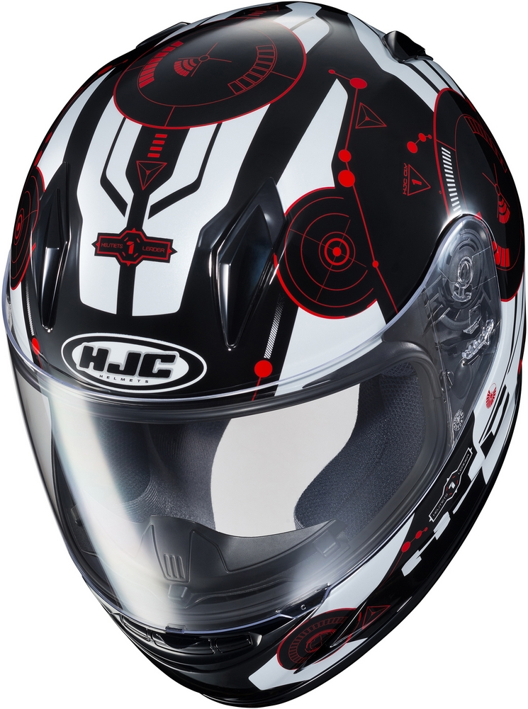 HJC CL-Y Simitic - Youth Size Full-Face Motorcycle Helmet ...