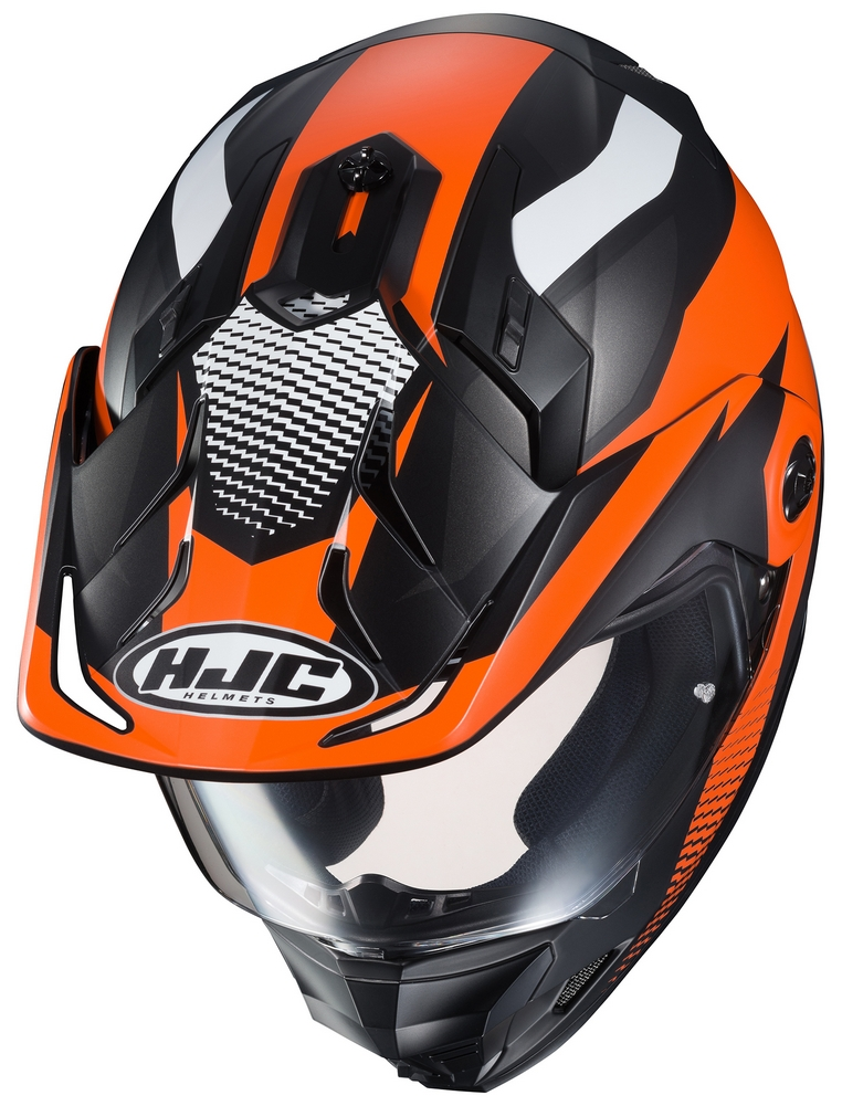Hjc Ds X1 Awing Dual Sport Street Off Road Motorcycle