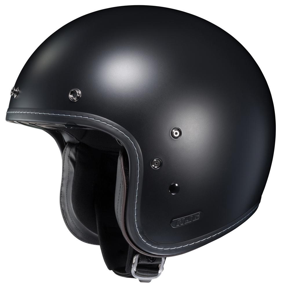 HJC IS-5 Open-Face Motorcycle Helmet - SF Black