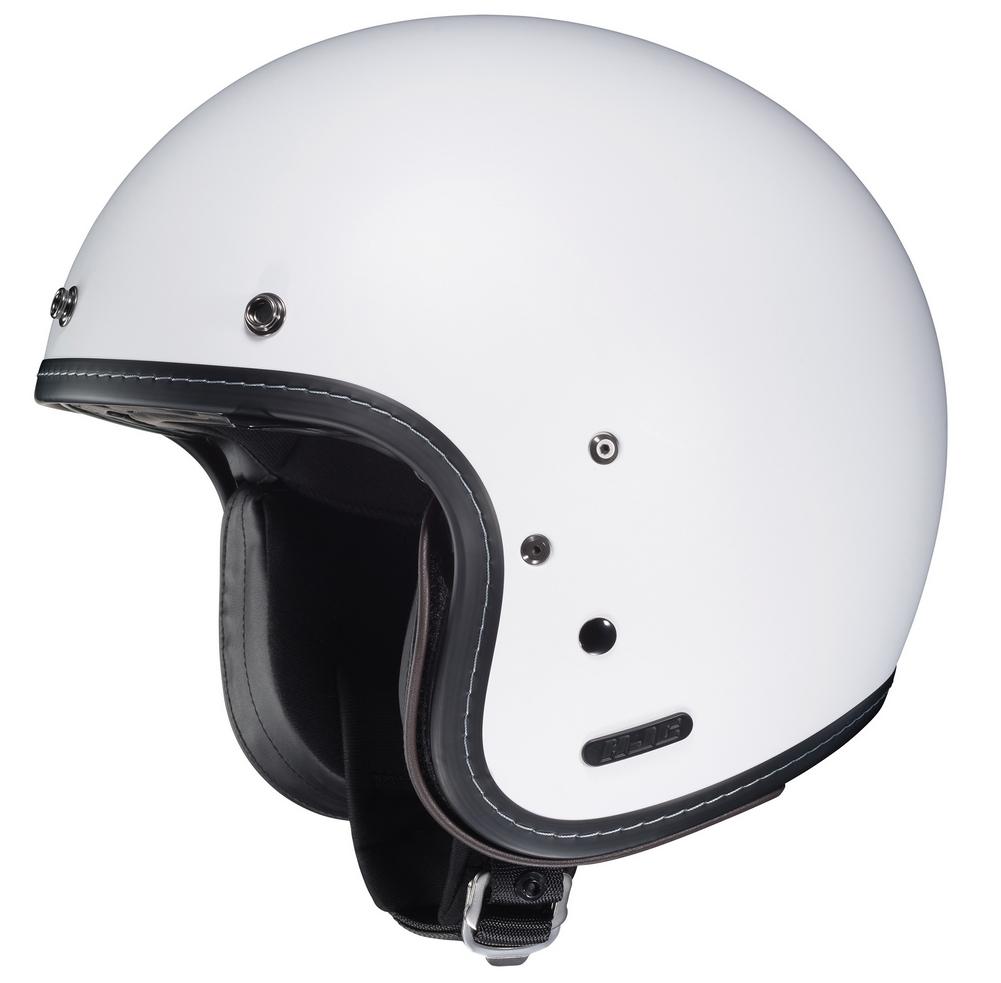 HJC IS-5 Open-Face Motorcycle Helmet - SF White