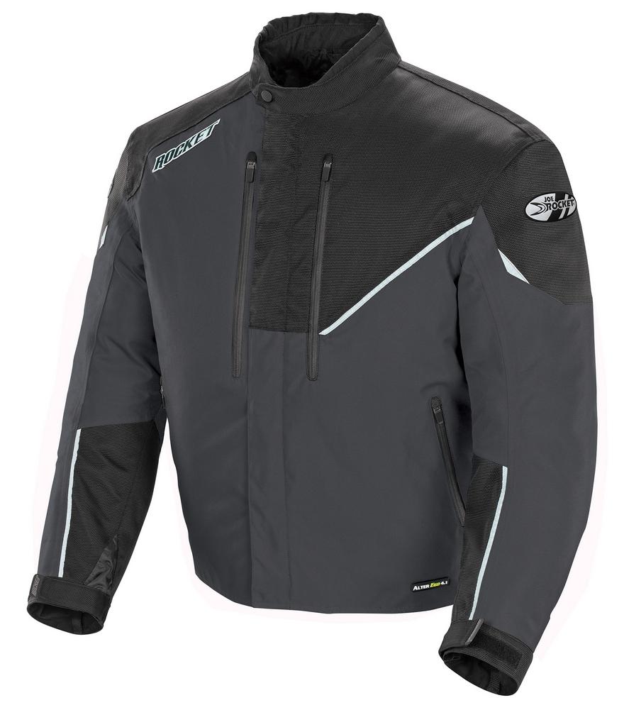 Joe Rocket Alter Ego 4.1 Waterproof Textile/Mesh Jacket - Black/Gunmetal