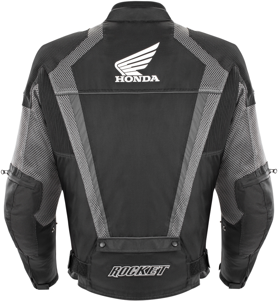 Joe Rocket Honda Vfr Mens Textile Mesh Motorcycle Jacket Black
