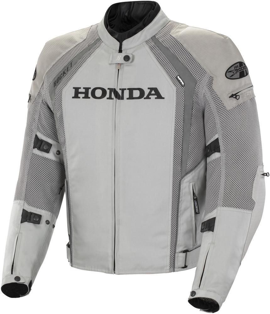 Joe Rocket Honda VFR Mens' Textile/Mesh Motorcycle Jacket - Silver