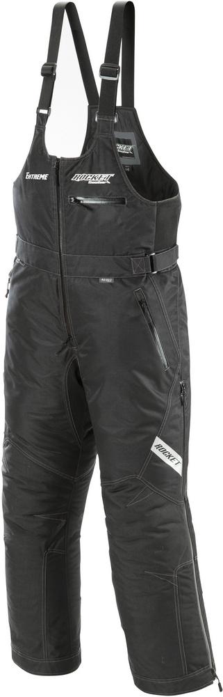 Joe Rocket RS Extreme - Mens' Snow/Ski/Snowmobile Bib - Black