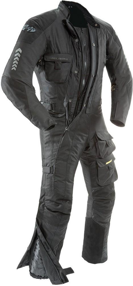 Joe Rocket Survivor One-Piece Motorcycle Suit - Black or Yellow