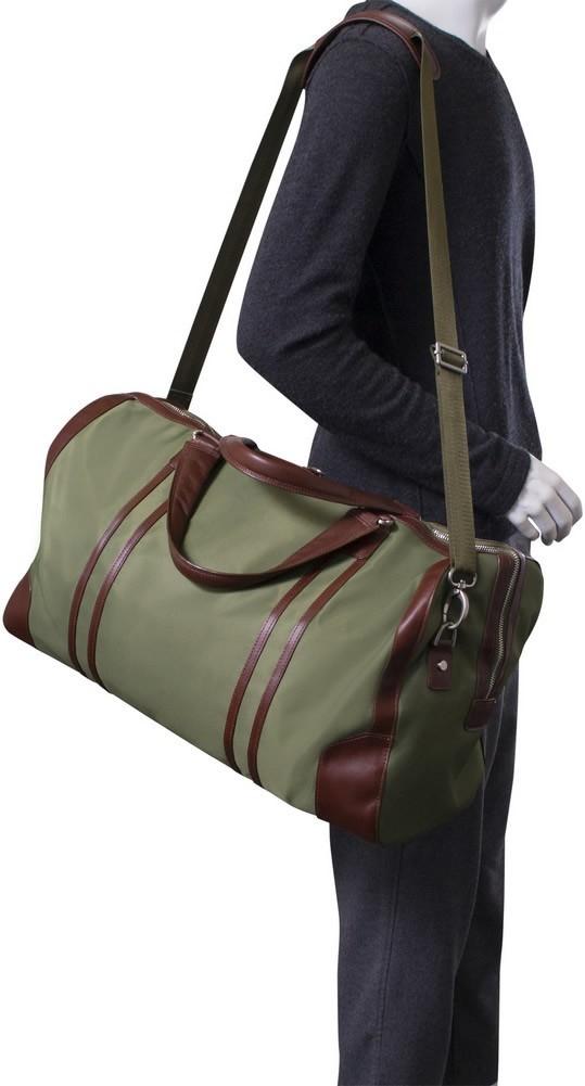 McKlein N-Series PASADENA - Nylon and Leather Duffel Bag