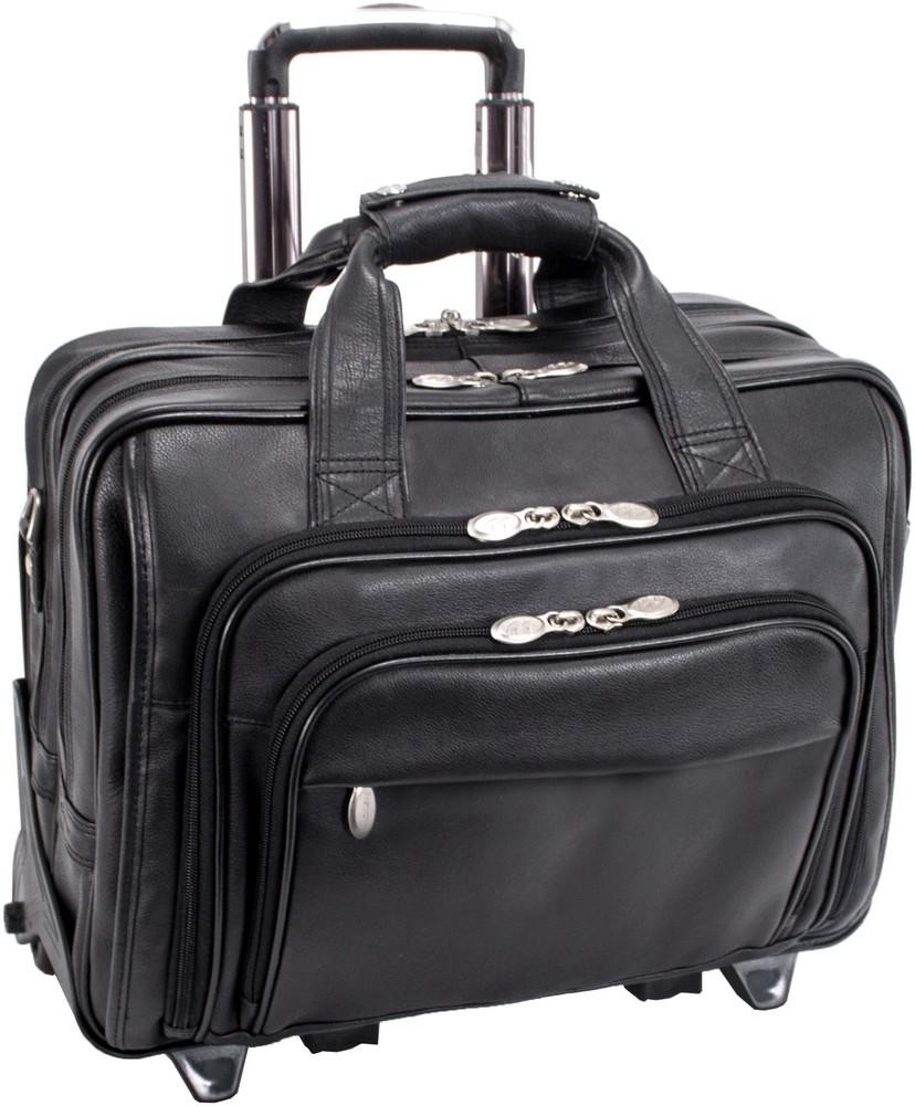 McKlein I-Series GOLD COAST - Full Grain Cashmere Napa Leather Laptop Case