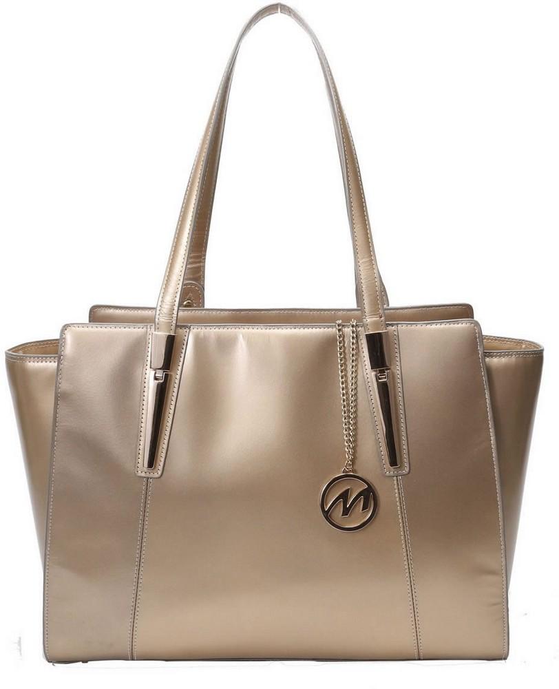 McKlein M-Series ALDORA - Top Grain Italian Leather Women's Tote Bag