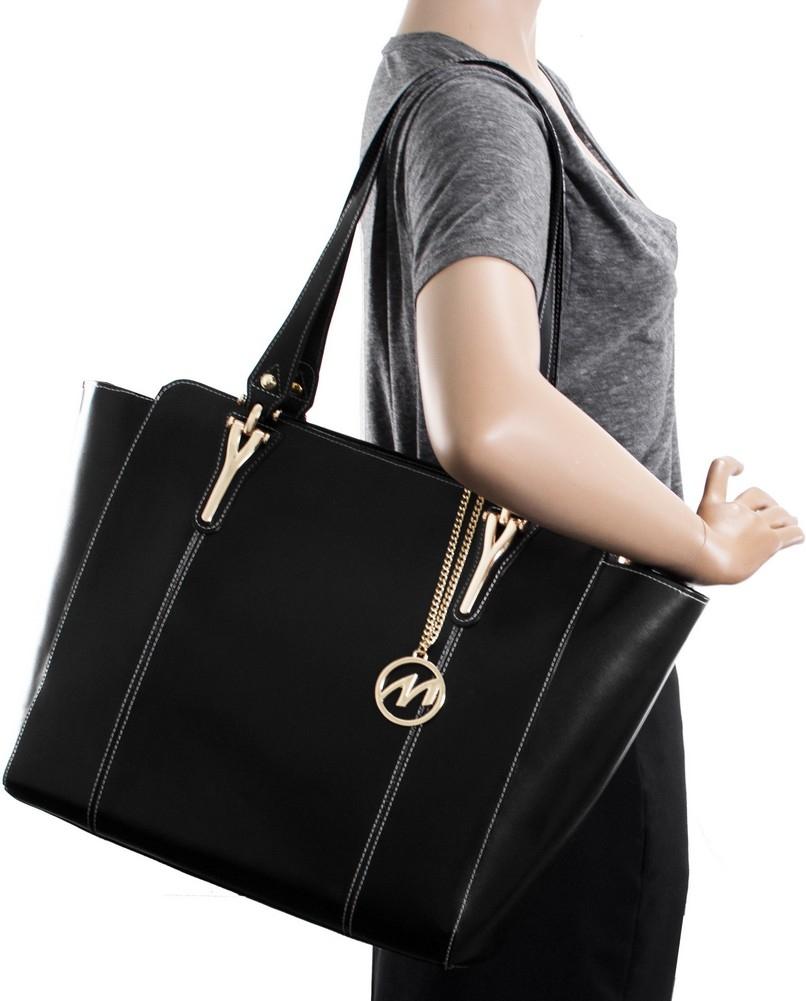 McKlein M-Series ALICIA - Top Grain Italian Leather Women's Tote Bag