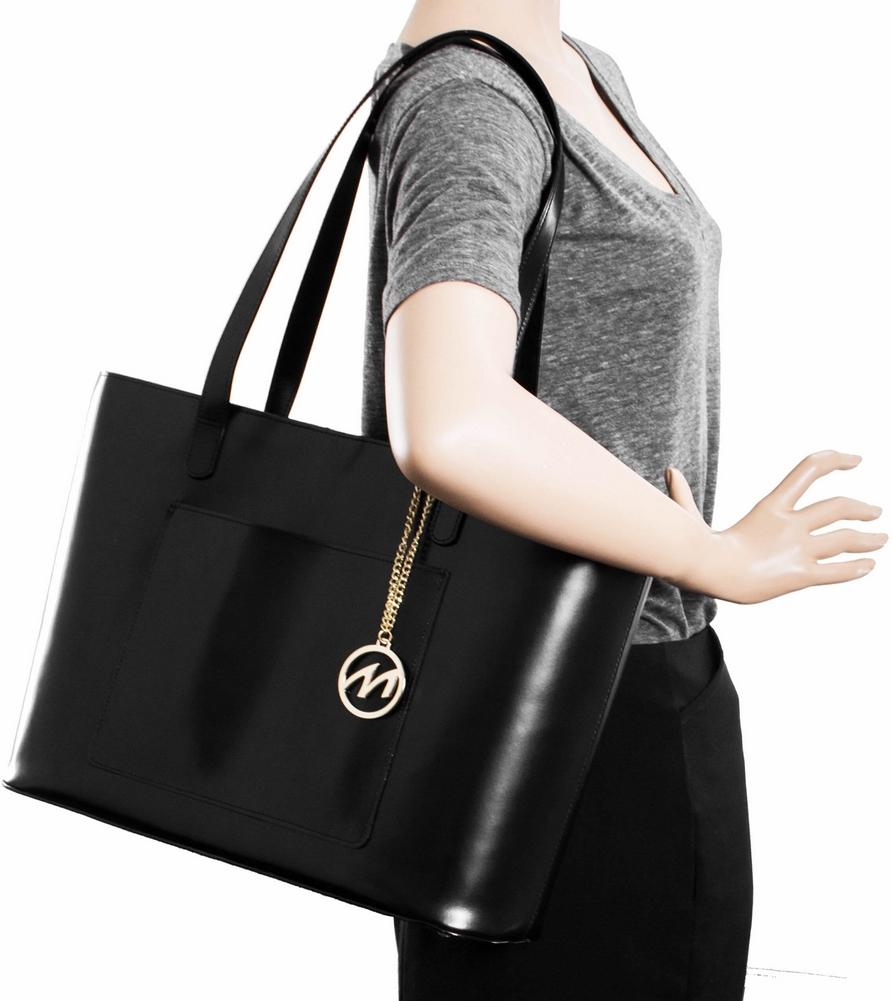 McKlein M-Series ALYSON - Top Grain Italian Leather Women's Tote Bag