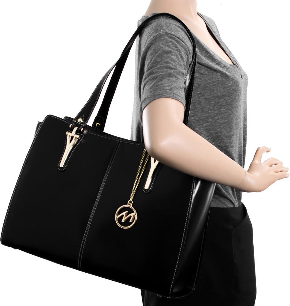 McKlein M-Series GLENNA - Top Grain Italian Leather Women's Tote Bag