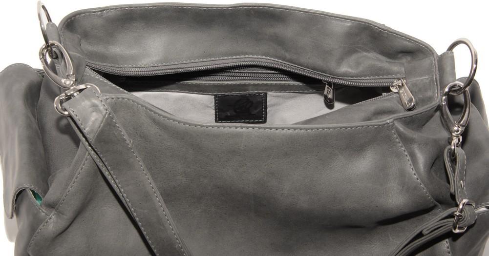 Piel Leather  Top-Zip Shoulder Bag Cross Body Hobo d725269489810