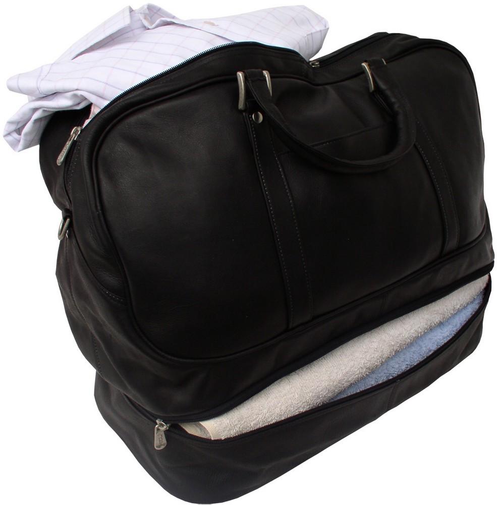 5d0ab7d028c0 Piel Leather: False-Bottom Sports Bag