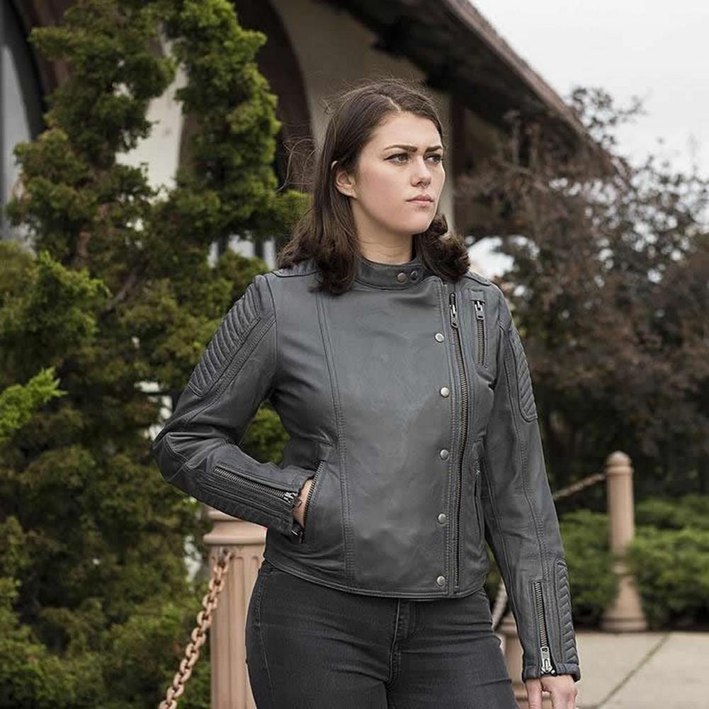 Whet-Blu ZENA - Womens' Leather Fashion Jacket