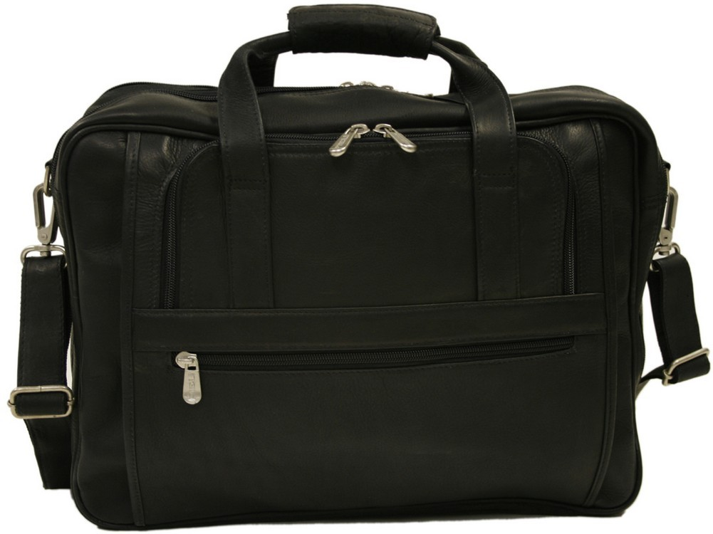 Piel Leather: Large/Ultra Compact Computer Bag